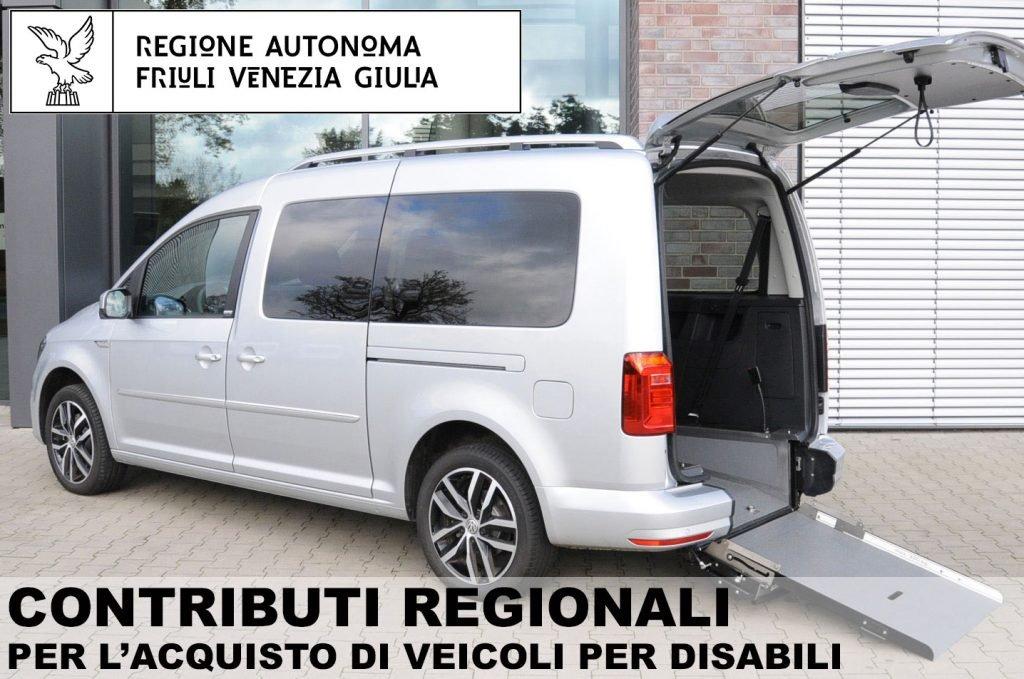 Friuli contributi auto disabili
