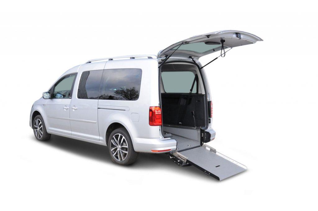 Volkswagen Caddy Maxi trasporto disabili