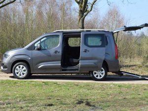 Opel combo con ribassamento pianale