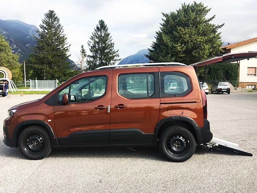 Peugeot Rifter Invalidi