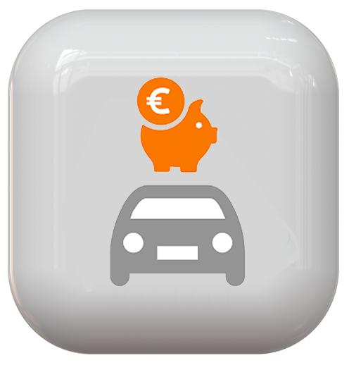 Icona risparmio auto