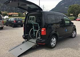 Volkswagen Caddy per disabili