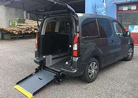 Citroen Berlingo per trasporto disabili
