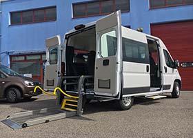 Fiat Ducato per trasporto disabili