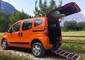 Fiat Qubo per trasporto disabili