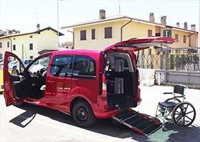 Peugeot Partner per disabili
