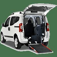 Fiat Qubo per disabili