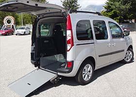 Renault Kangoo per disabili