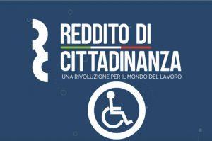Disabili reddito cittadinanza