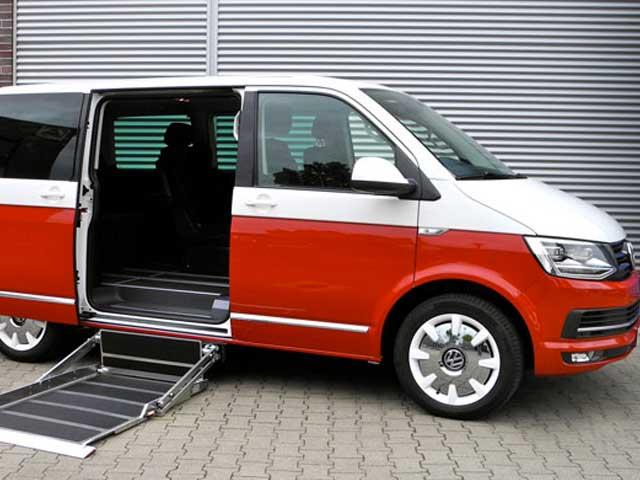 Trasporto disabili Multivan