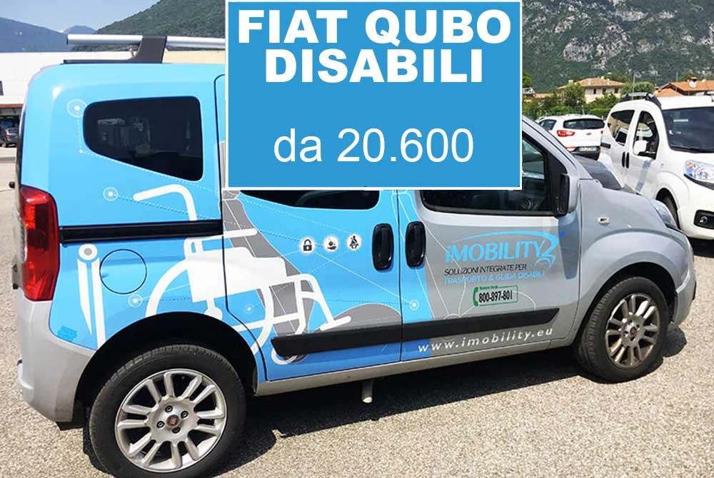 fiat qubo trasporto disabili