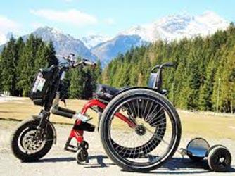 Mobilità disabili in carrozzina