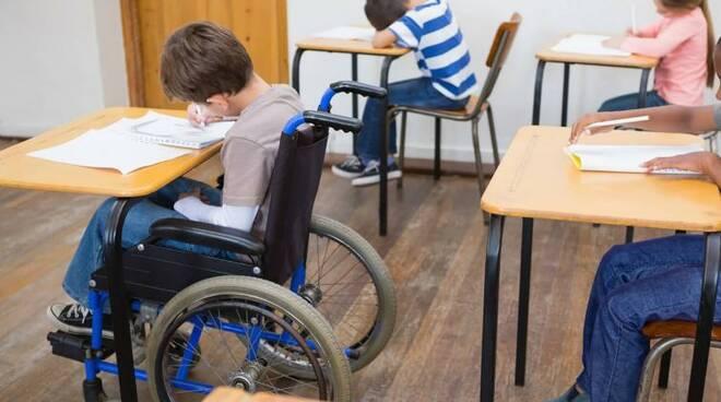 studenti disabili a scuola