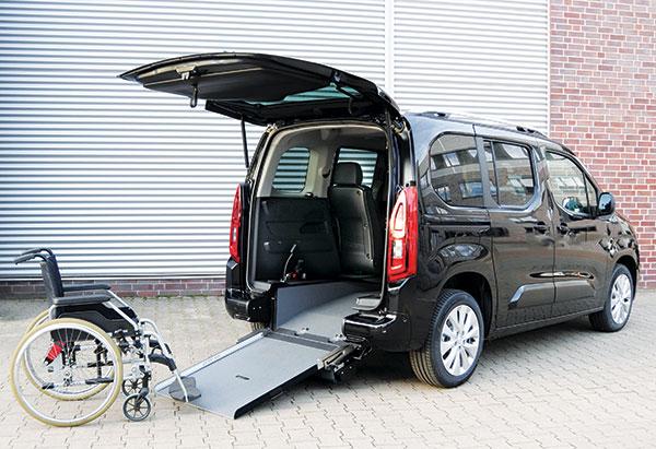 Opel Combo per disabili