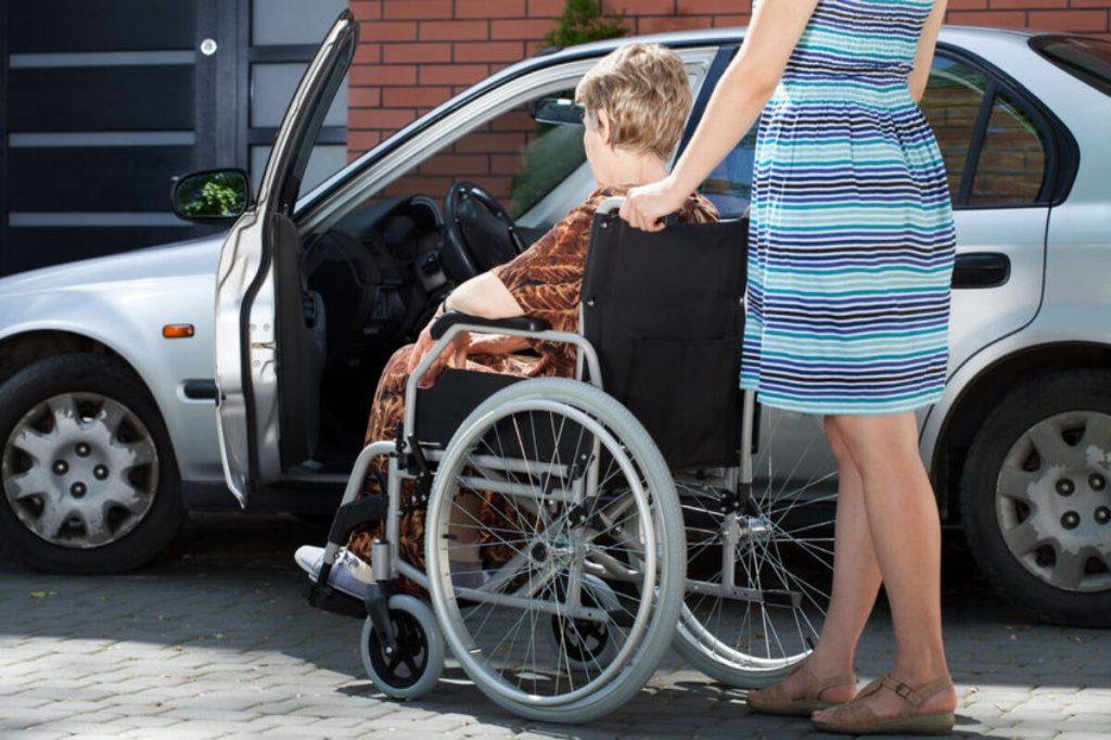 legge 104 auto disabili
