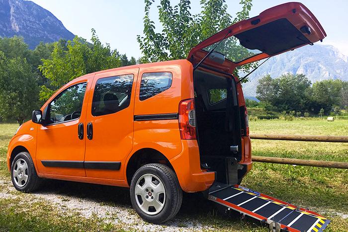 Fiat Qubo disabili SOTTOCOSTO