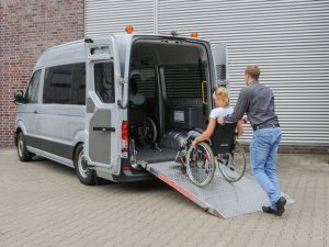 abbassamento sospensioni per disabili