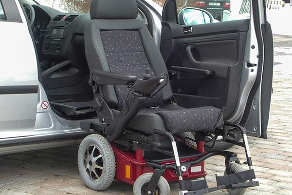 Ausili per trasporto disabili