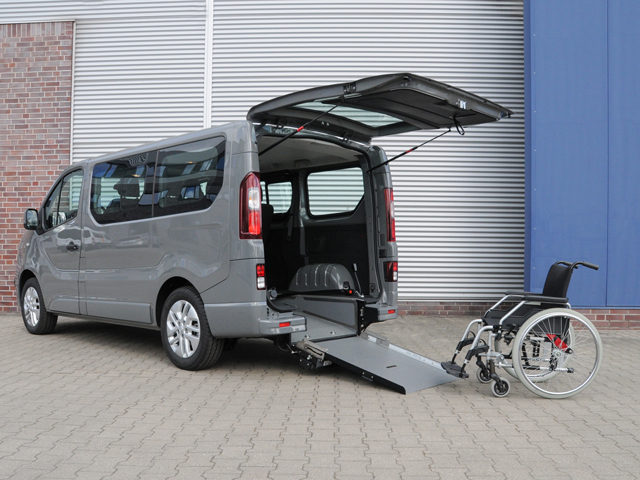 Renault Trafic disabili