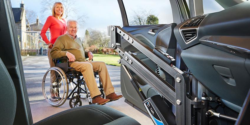 Dove allestire un'auto per disabili
