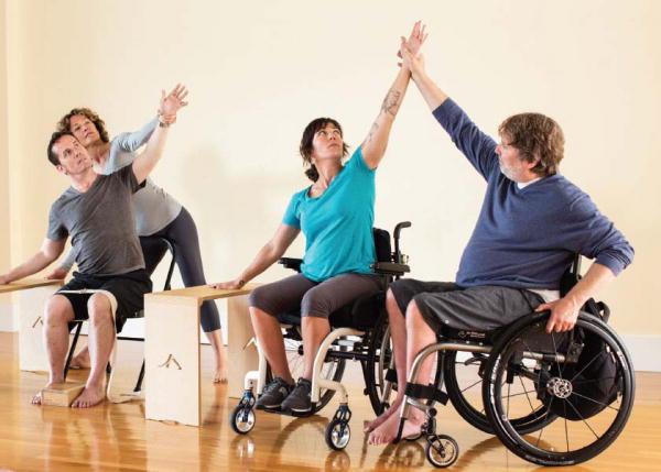 Lo yoga per disabili