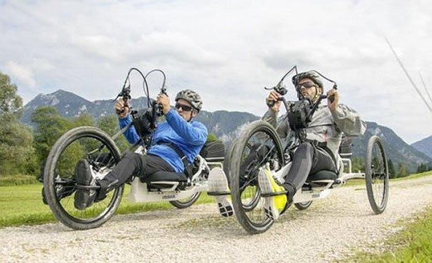 Handbike per disabili