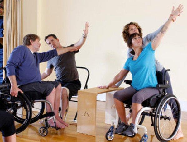 yoga e disablità