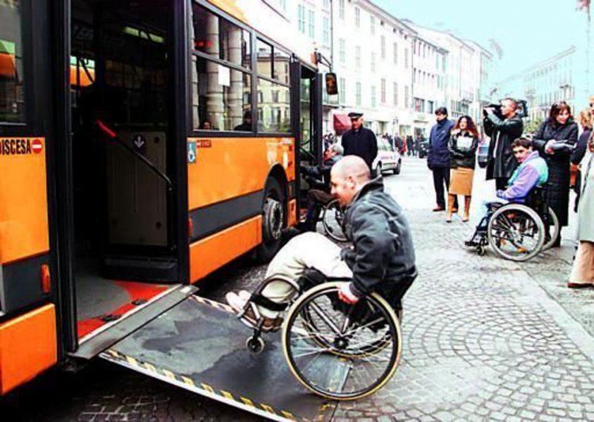 Disabili e viaggi in autobus