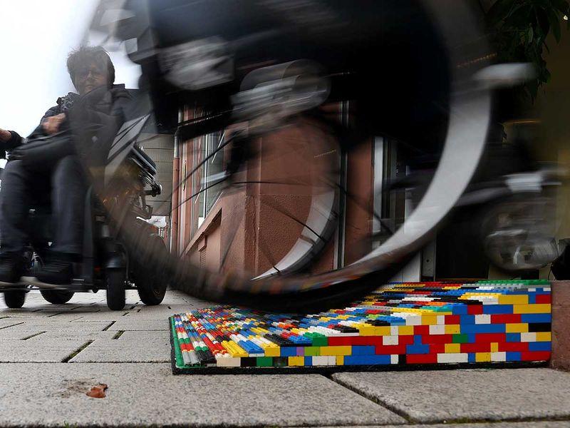 Lego e rampe per disabili