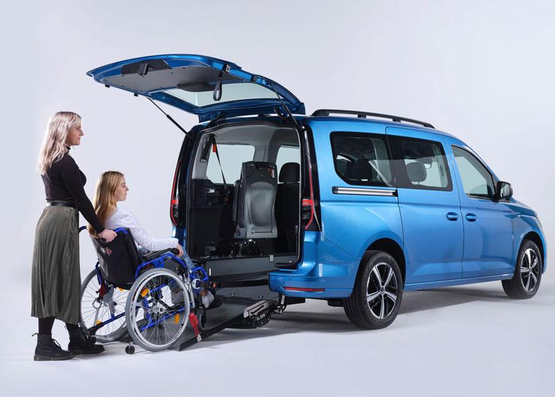 Caddy 5 pianale ribassato disabili