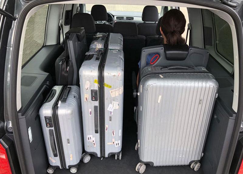 Amf rampa pieghevole e bagagli