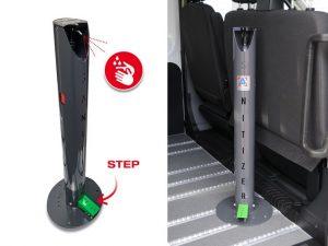 Sanificazone autoveicoli per disabili