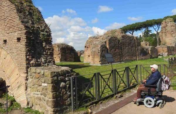 Roma trasporto disabili