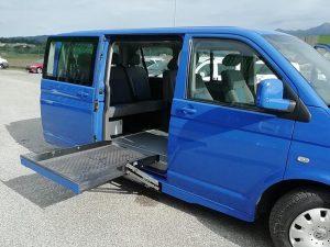 Volkswagen sollevatore disabili